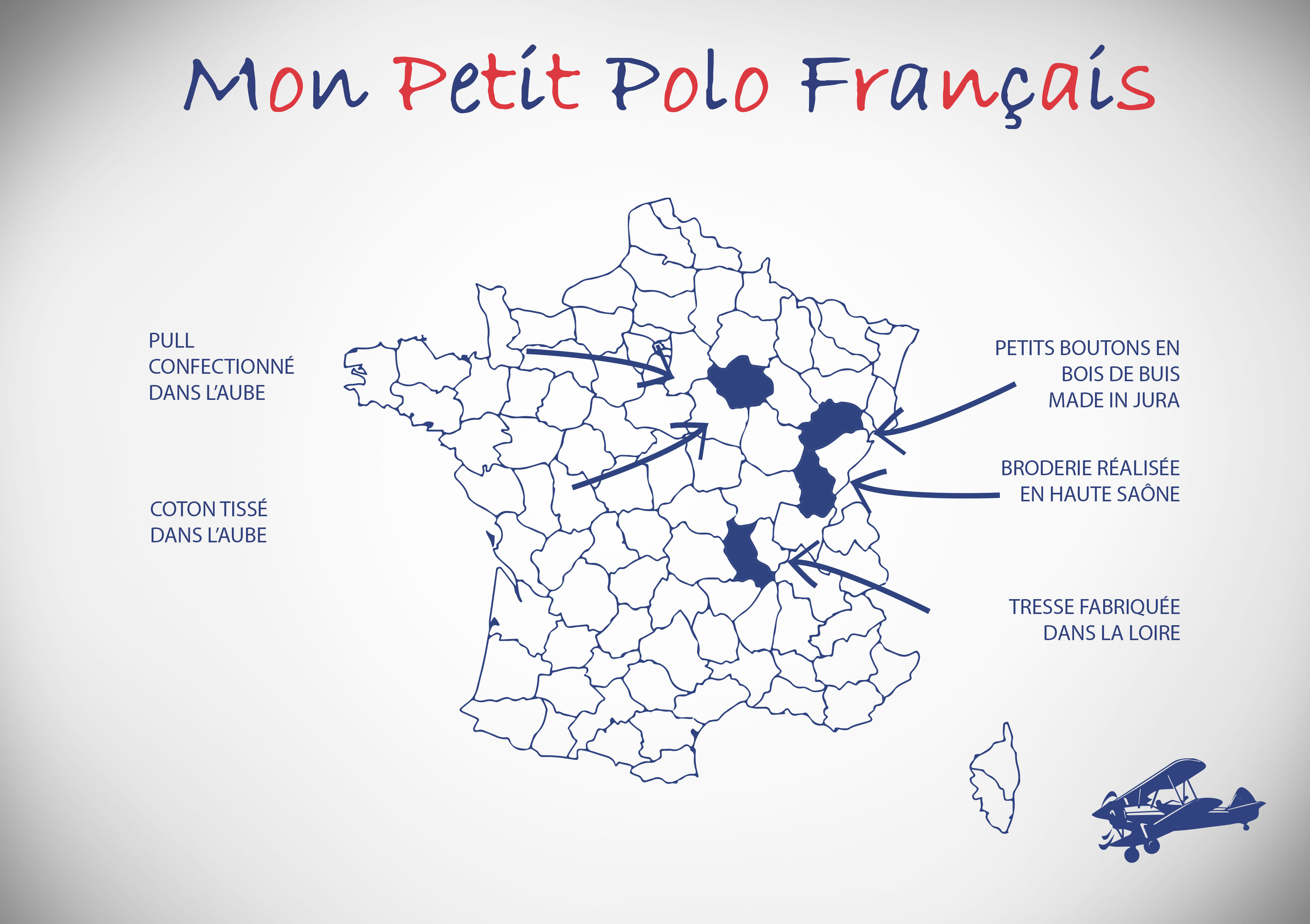 Carte du Made in France