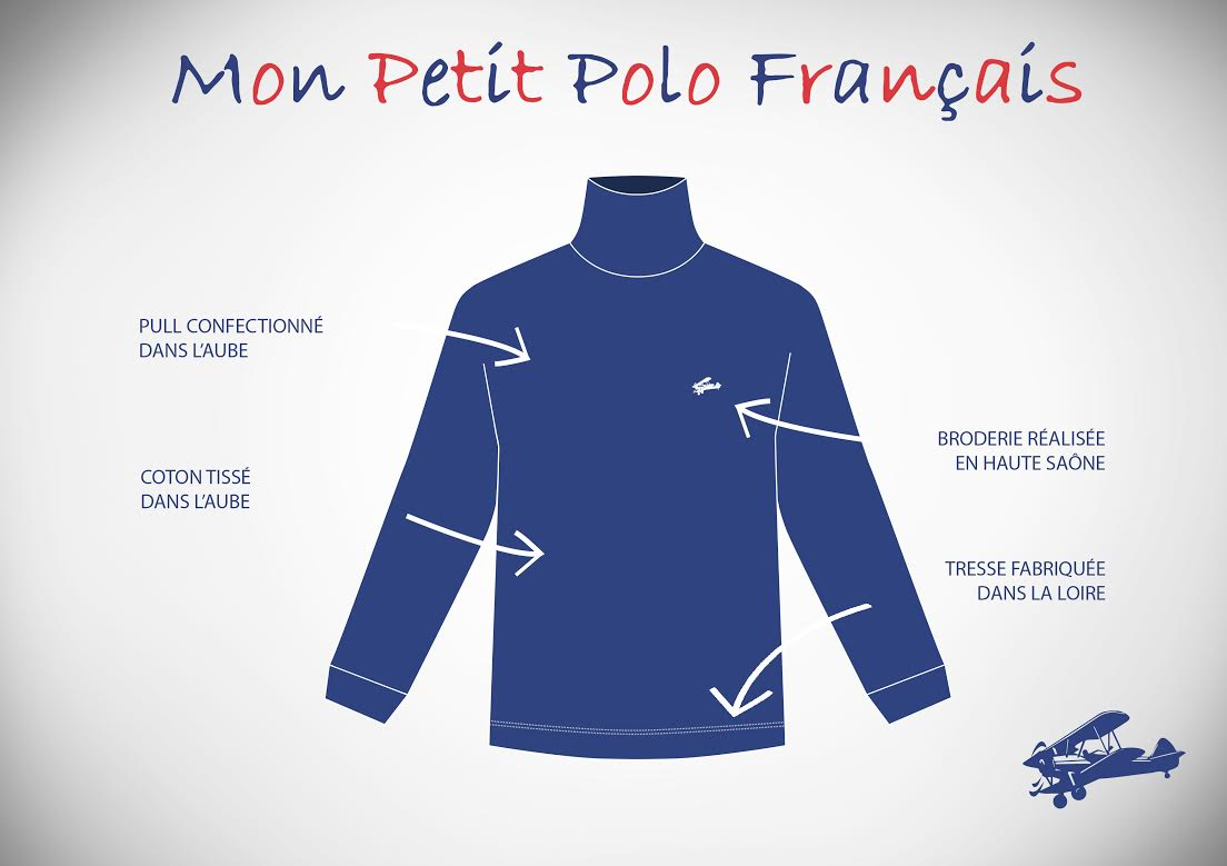 Pull 100% Made in France